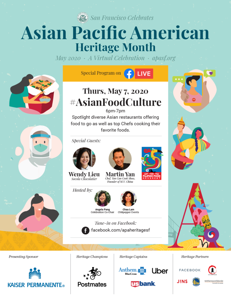 May 7: #AsianFoodCulture