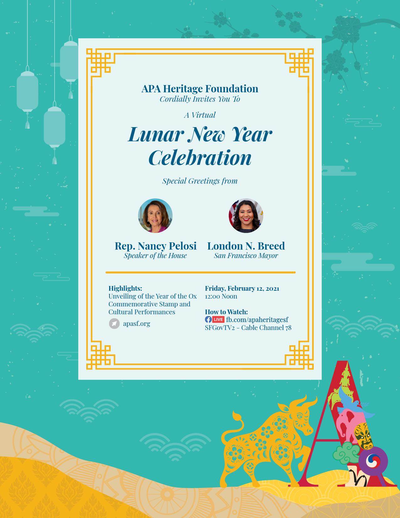 San Francisco Lunar New Year Celebration 2021