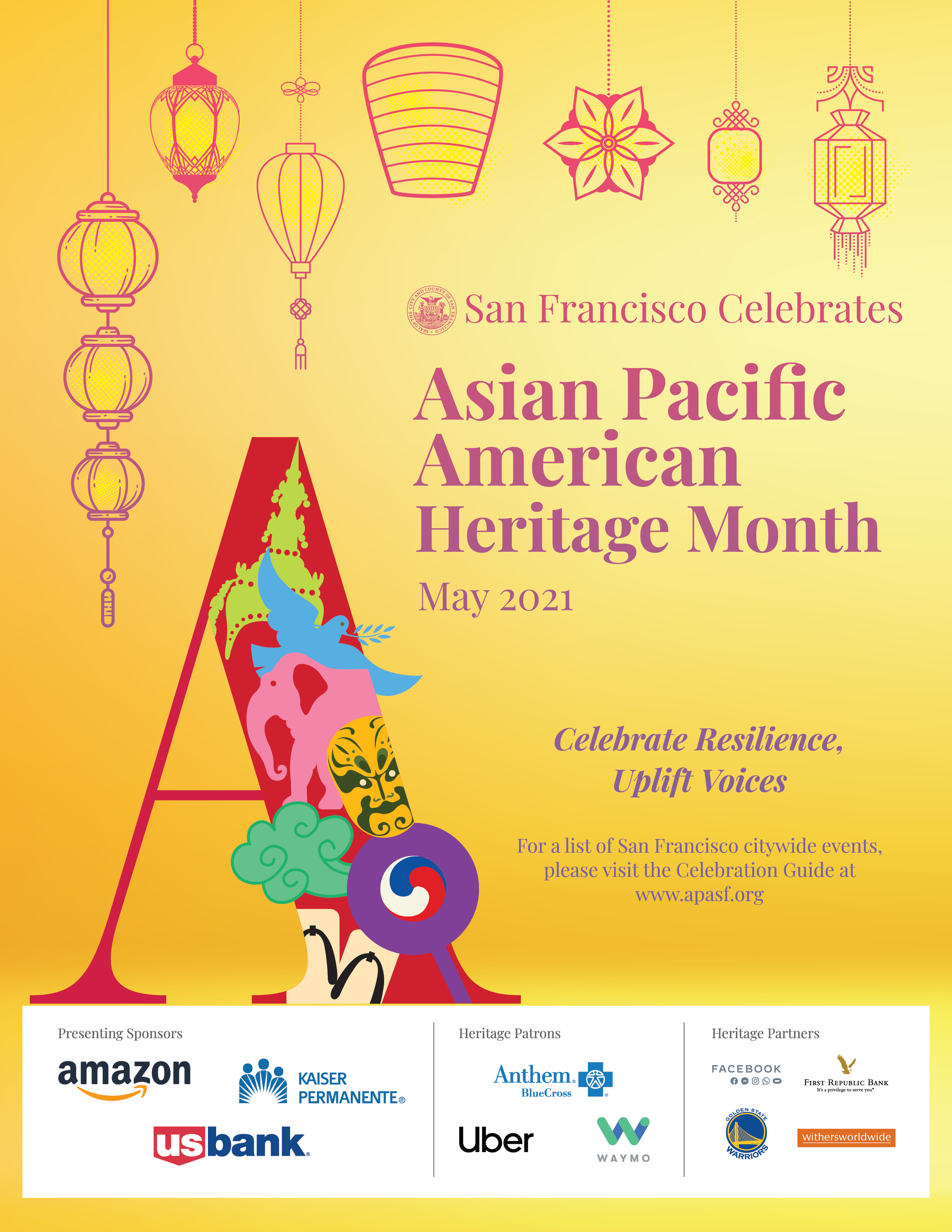2021 Poster - San Francisco's celebration of Asian Pacific American Heritage Month
